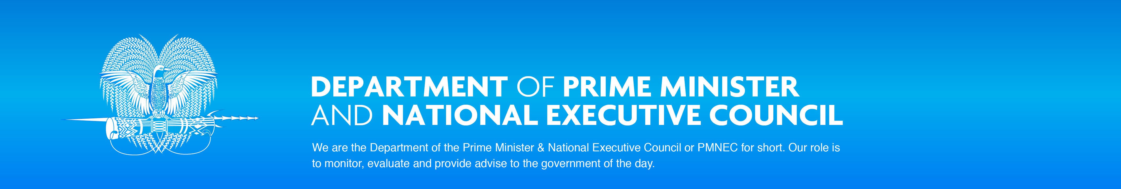 Department of Prime Minister and NEC